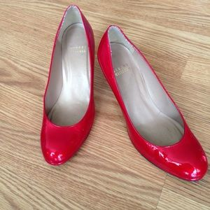 Stuart Weizmann red heels size 51/2 height 21/2